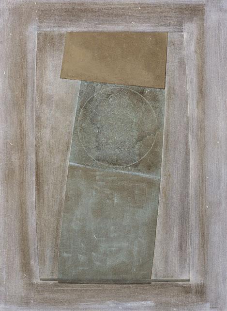 Ben Nicholson, 1967 (an almost green circle), 1967 • Scottish National Gallery of Modern Art, Edinburgh. (c) Angela Verren Taunt, 2009