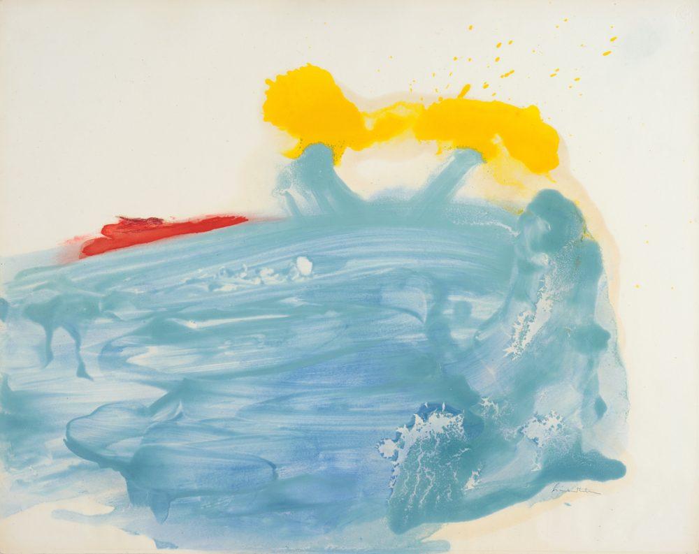 Helen Frankthaler abstract
