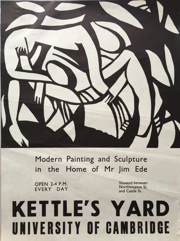 Kettle's Yard poster