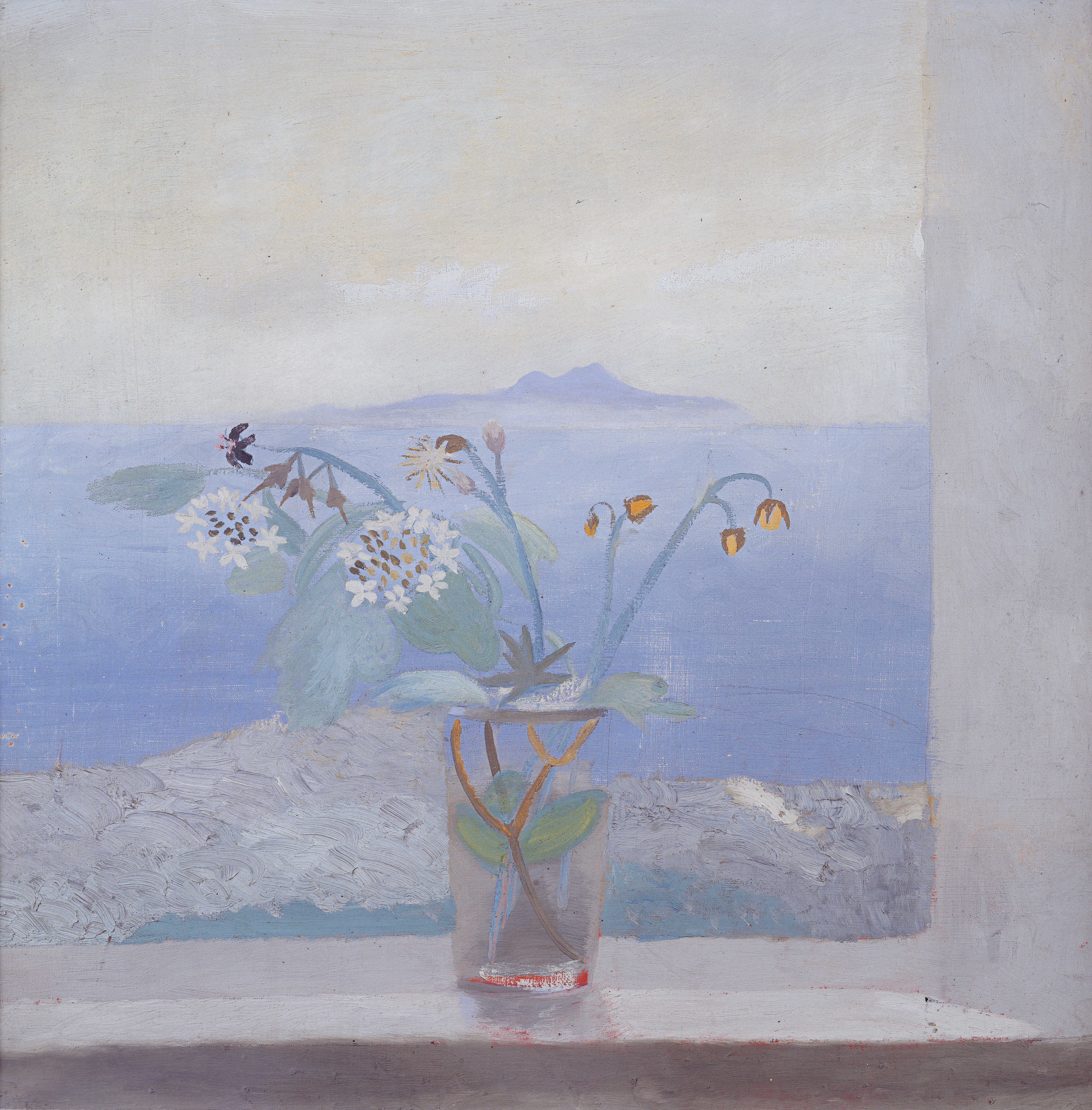 Winifred Nicholson The Isle of Man from St Bees Art Painting MIMA