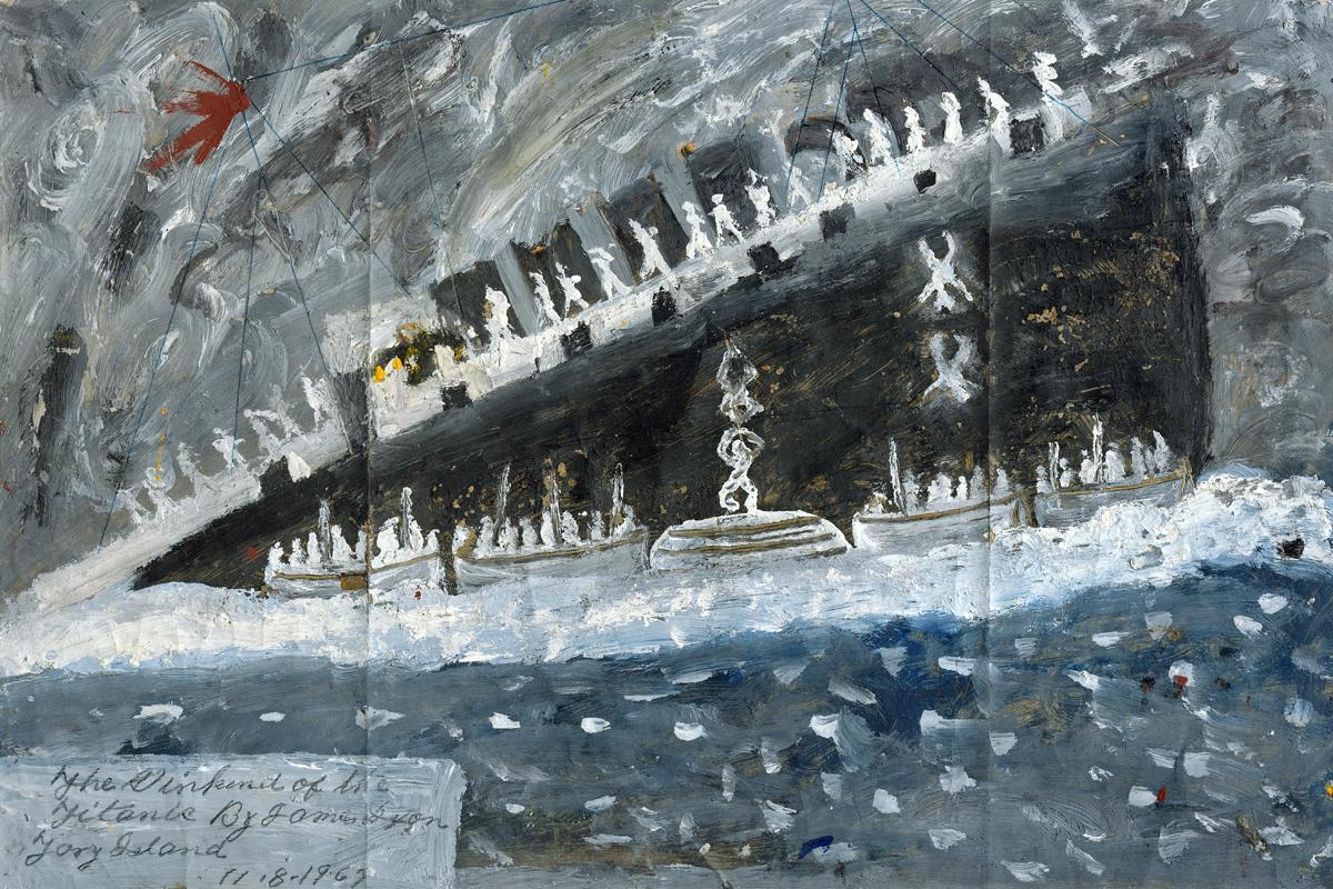 James Dixon Sinking of the Titanic Art Kettles Yard